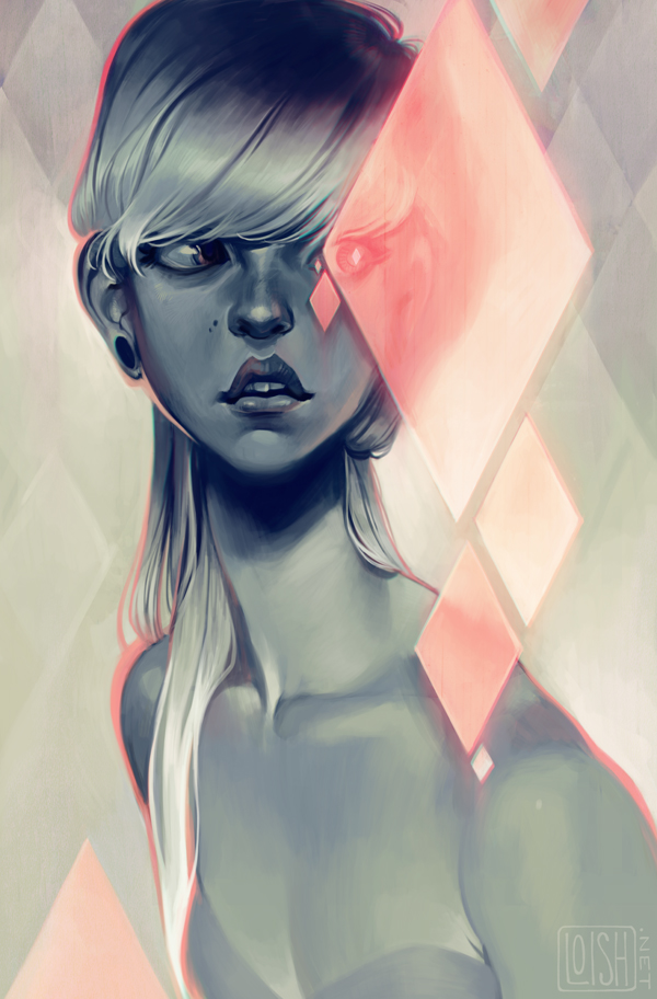 Blush by Lois Van Baarle