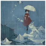 Paper Boats in the Rain - Kapie Eipak