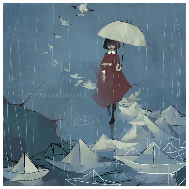 Paper Boats in the Rain - Kapie Eipak