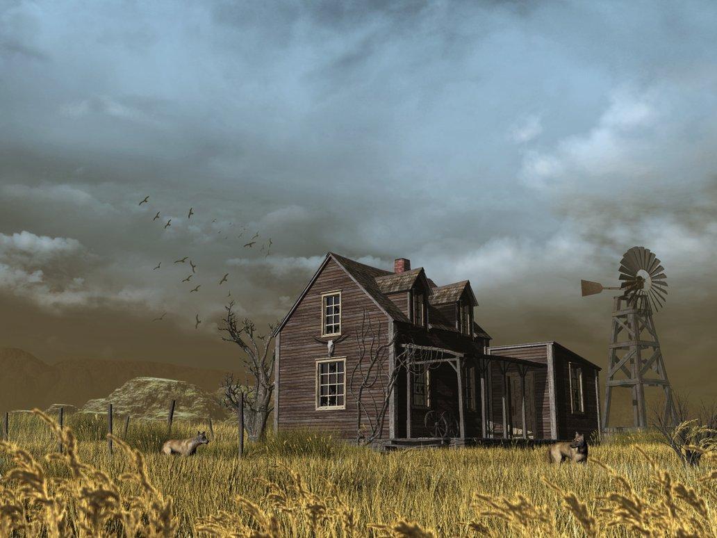 abandoned_farm_by_xmas_kitty-d4o6sko