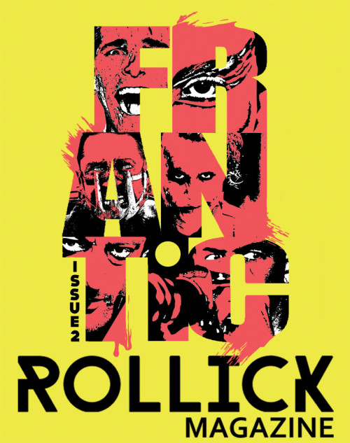 Rollick Magazine - Frantic Poster